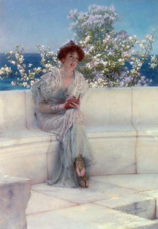 The Year's at the Spring, All's Right with the World, 1902 by Sir Lawrence Alma-Tadema