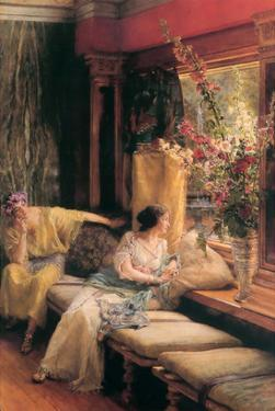 Vain Courtship by Sir Lawrence Alma-Tadema