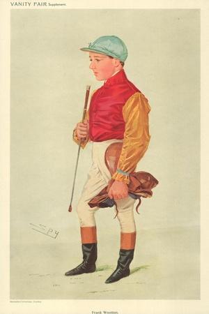 Frank Wooton, 8 September 1909, Vanity Fair Cartoon