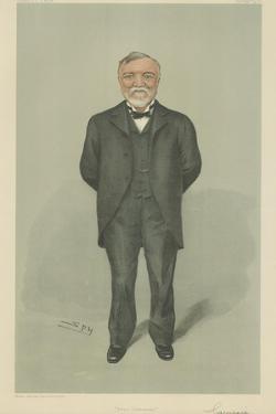 Mr Andrew Carnegie by Sir Leslie Ward