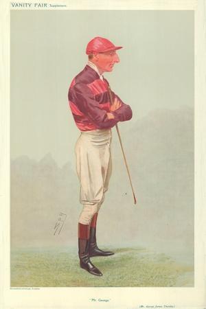 Mr George James Thursby, Mr George, 28 August 1907, Vanity Fair Cartoon