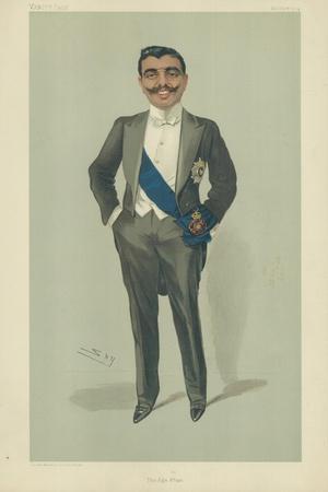 The Aga Khan, 10 November 1904, Vanity Fair Cartoon