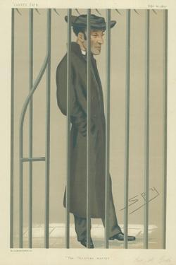 The Reverend Arthur Tooth, the Christian Martyr, 10 February 1877, Vanity Fair Cartoon by Sir Leslie Ward