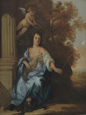 Portrait of a Lady as a Saint by Sir Peter Lely