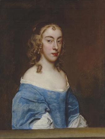 Portrait of a Young Girl in a Blue Dress by Sir Peter Lely