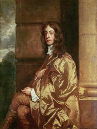 Portrait of Henry Spencer (1620-43), 1st Earl of Sunderland, 1643 by Sir Peter Lely