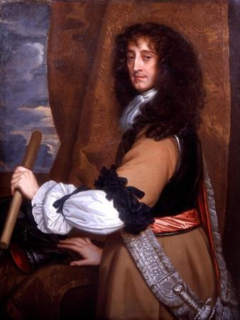 Portrait of Prince Rupert of the Rhine, C.1665 by Sir Peter Lely