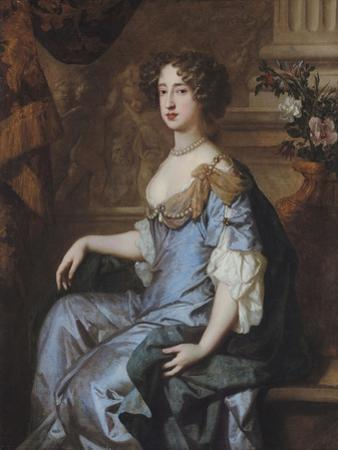 Portrait of Queen Mary II by Sir Peter Lely