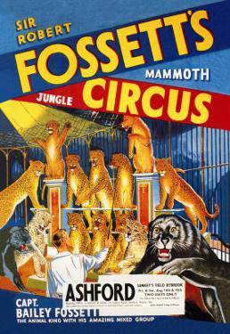 Sir Robert Fossett's Mammoth Jungle Circus