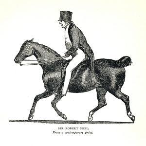 Sir Robert Peel, (1788-1850), British Conservative Statesman, 1893