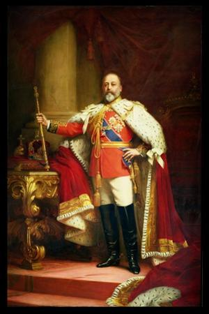 King Edward Vii, 1902 by Sir Samuel Luke Fildes