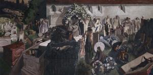 The Resurrection, Cookham by Sir Stanley Spencer