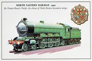 Sir Vincent Raven's Pacific, North Eastern Railway, 1922