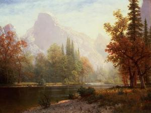 Half Dome: Yosemite by Sir William Beechey