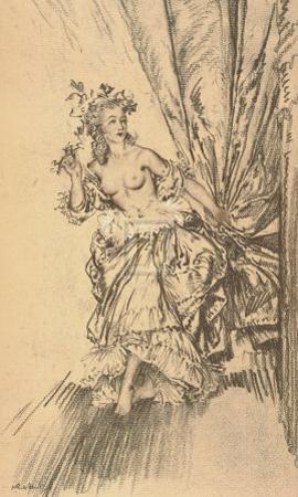 Madame du Barry as a Bacchante