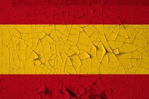 Spanish Flag Grunge Background by sirylok
