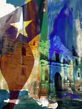 Alamo Flag by Sisa Jasper