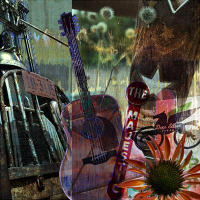 Guitar Collage by Sisa Jasper