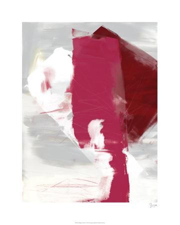 Magenta Abstract I by Sisa Jasper