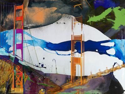 San Francisco Bridge Abstract I by Sisa Jasper