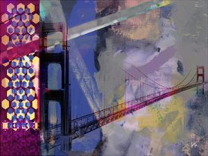 San Francisco Bridge Abstract II by Sisa Jasper