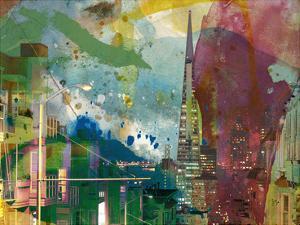 San Francisco Buildings I by Sisa Jasper