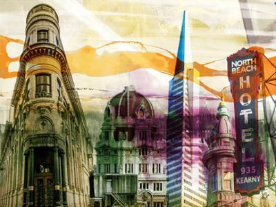 San Francisco Buildings II by Sisa Jasper