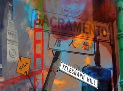 San Francisco Signs I by Sisa Jasper
