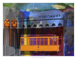 San Francisco Trolley Car by Sisa Jasper