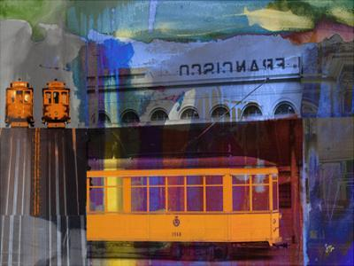 San Francisco Trolley Car by Sisa Jasper