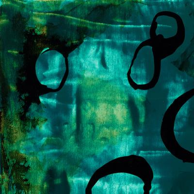 Turquoise Element I by Sisa Jasper