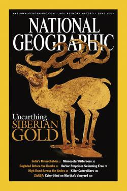 Cover of the June, 2003 National Geographic Magazine by Sisse Brimberg