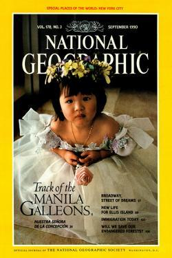 Cover of the September, 1990 National Geographic Magazine by Sisse Brimberg