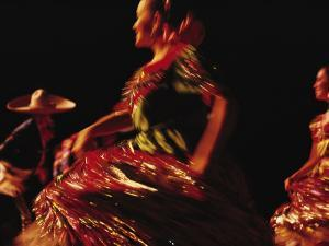 Mexican Dancers by Sisse Brimberg