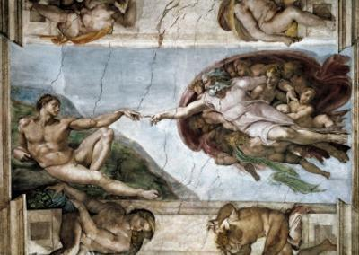 Sistine Chapel, the Creation of Adam