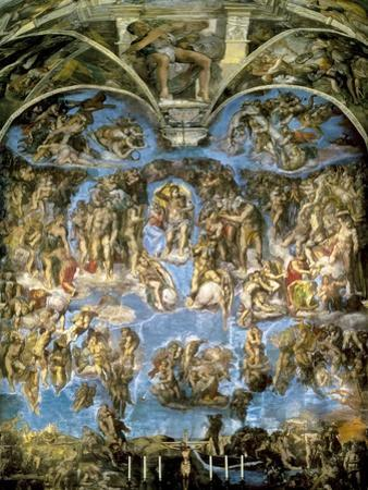 Sistine Chapel, the Last Judgement
