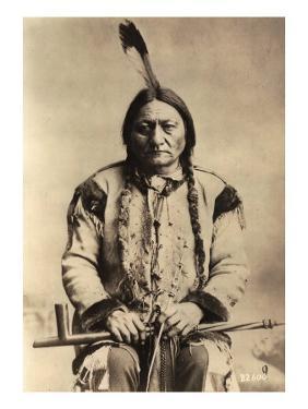 Sitting Bull (Tatanka Iyotake) 1831-90 Teton Sioux Indian Chief