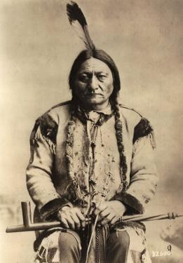 Sitting Bull (Tatanka Iyotake) 1831-90 Teton Sioux Indian Chief