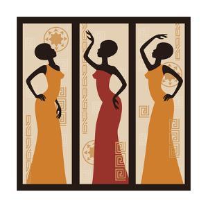 Beautiful African American Women by Sivanova