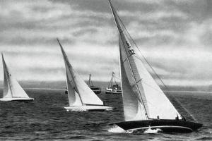 Six Metre R Class Sailing, Berlin Olympics, 1936