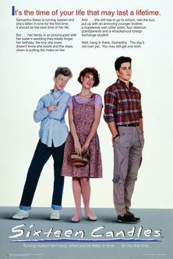 Sixteen Candles One Sheet