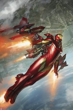 International Iron Man No. 3 Cover Art by Skan