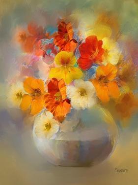 Bouquet Nasturtiums by Skarlett