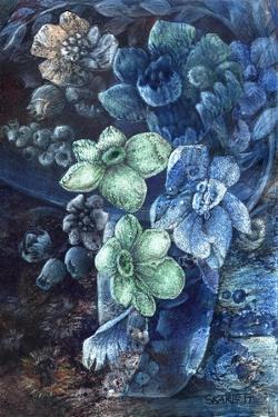 Green Flowers by Skarlett