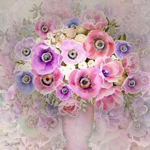 Pink Flowers by Skarlett