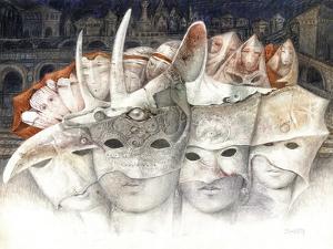 The Masks by Skarlett