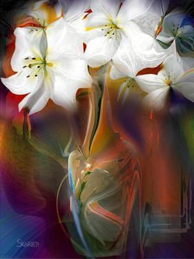 White Flowers by Skarlett