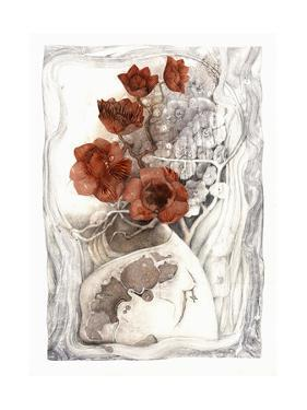 White Vase by Skarlett
