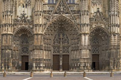 Gothic Cathedral of Saint Gatien in Tours, France