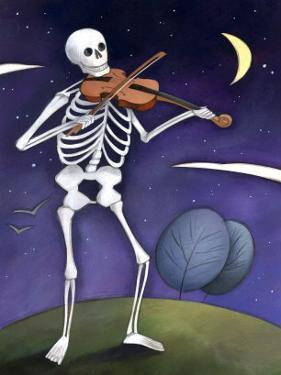 Skeleton Playing a Violin, Day of the Dead, Dia de los Muertos